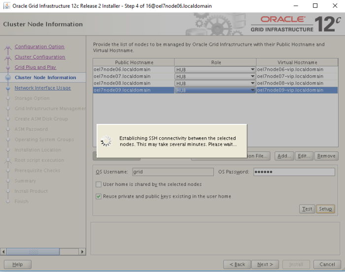 Installing Oracle Grid Infrastructure 12c R2 – My Oracle Notes